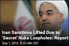 US & Co. Worked 'in Secret' on Iran Nuke Exemptions: Report