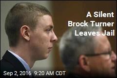 A Silent Brock Turner Leaves Jail