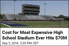 Most Expensive High School Stadium Ever Just Got More So