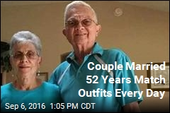 Couple Married 52 Years Match Outfits Every Day