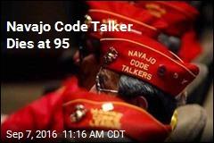 Navajo Code Talker Dies at 95
