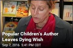 Popular Children's Author Leaves Dying Wish