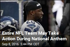Seahawks Mulling Team-wide Action During National Anthem