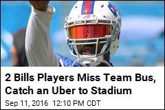 2 Bills Players Miss Team Bus, Catch an Uber to Stadium