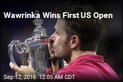 Wawrinka Wins 1st US Open