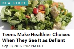 Teens Make Healthier Choices When They See It as Defiant