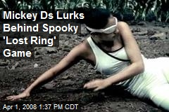 Mickey Ds Lurks Behind Spooky 'Lost Ring' Game