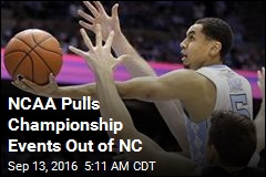 NCAA Pulls Championship Events Out of NC