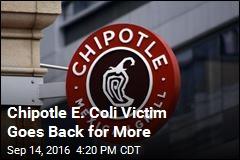 Chipotle E. Coli Victim Asks for Free Burritos