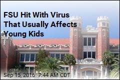 FSU Hit With Virus That Usually Affects Young Kids