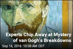 Experts Chip Away at Mystery of van Gogh's Breakdowns