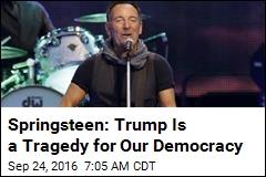 Springsteen: Trump Is a Moron