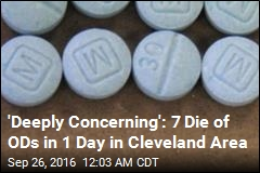 7 Die of Overdoses in 1 Day in Cleveland Area