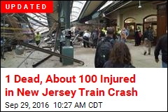 Commuter Train Slams Into NJ Station