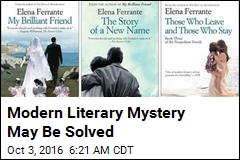 Modern Literary Mystery May Be Solved, Upsetting Many