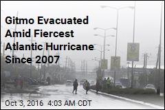 Gitmo Workers Evacuated as Hurricane Matthew Nears