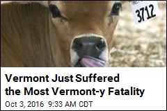 Vermont Just Suffered the Most Vermont-y Fatality
