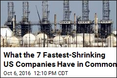 7 Fastest-Shrinking Companies in the US
