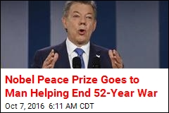 Colombian President Wins Nobel Peace Prize