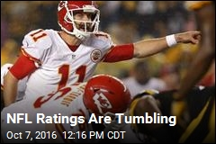 NFL Ratings Are Tumbling