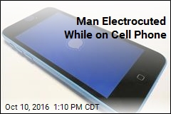 Man Electrocuted While on Cell Phone