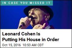 Leonard Cohen Profile Offers Rarity: Bob Dylan, Music Critic