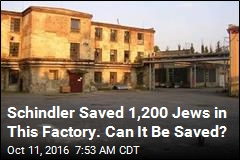 Schindler Saved 1,200 Jews in This Factory. Can It Be Saved?