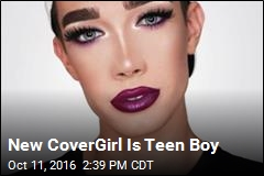 CoverGirl Hires 1st 'CoverBoy'