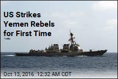 US Strikes Rebel Sites in Yemen
