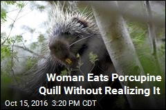 Woman's Mystery Chest Pains Caused by Porcupine Quill