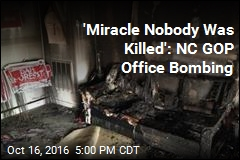 North Carolina GOP Office Firebombed