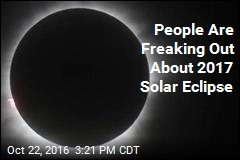 People Are Freaking Out About 2017 Solar Eclipse