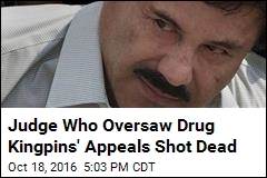 Judge Who Oversaw Drug Kingpins' Appeals Shot Dead