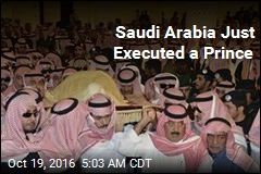 Saudi Arabia Just Executed a Prince