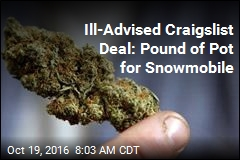 Man Busted Trying to Swap Pot for Snowmobile