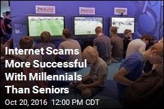 Internet Scams More Successful With Millennials Than Seniors