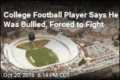 College Football Player Says He Was Hazed, Called 'Retarded'