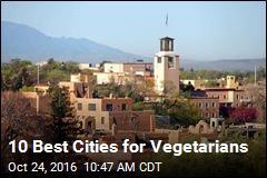 10 Best Cities for Vegetarians