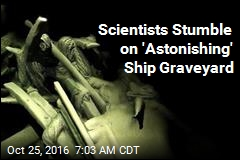 Chance Seafloor Find: 41 Shipwrecks