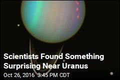 Scientists Found Something Surprising Near Uranus