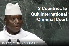 3 Countries to Quit International Criminal Court
