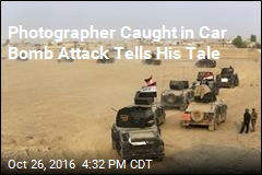 Photographer Caught in Car Bomb Attack Tells His Tale