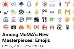 Among MoMA's New Masterpieces: Emojis