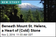 Beneath Mount St. Helens, a Heart of (Cold) Stone