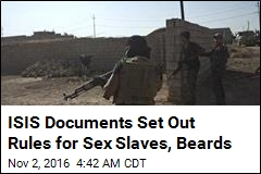 ISIS Documents Set Out Rules for Sex Slaves, Beards