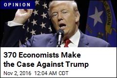 370 Economists Make the Case Against Trump