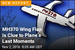 MH370 Wing Flap Is Clue to Plane's Last Moments