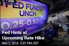 Fed Hints at Upcoming Rate Hike