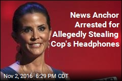 News Anchor Arrested for Allegedly Stealing Cop's Headphones