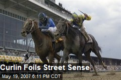 Curlin Foils Street Sense